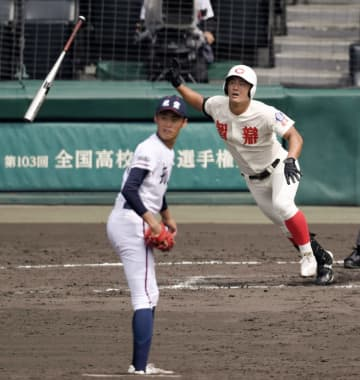 神戸国際大付、近江などベスト8 全国高校野球選手権大会 画像1