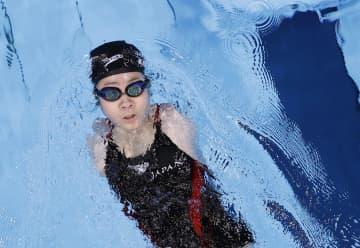 最年少14歳の山田美幸が決勝へ 競泳、鈴木孝幸らも予選通過 画像1