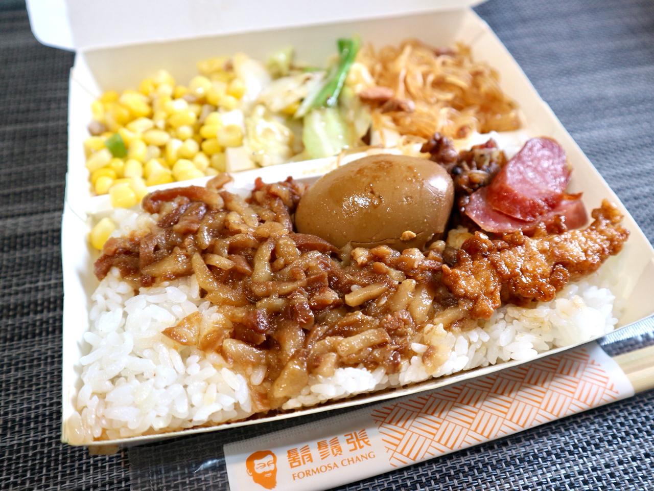 """【台湾】""""ひげのおじさん""""が目印「鬍鬚張魯肉飯」はテイクアウト弁当が充実!さて、そのお味は? 画像7"""
