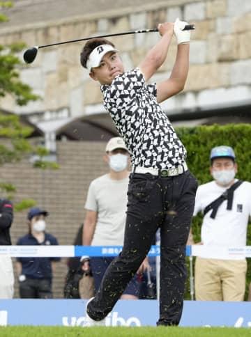 22歳清水ら暫定首位 男子ゴルフ第1日 画像1