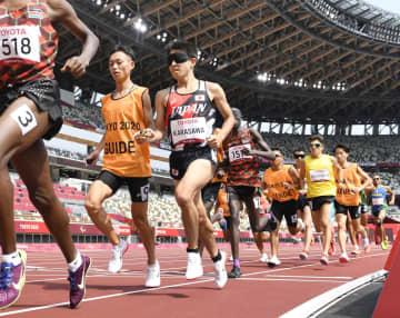 陸上5千mで唐沢が銀、和田は銅 パラ、卓球伊藤のメダル確定 画像1