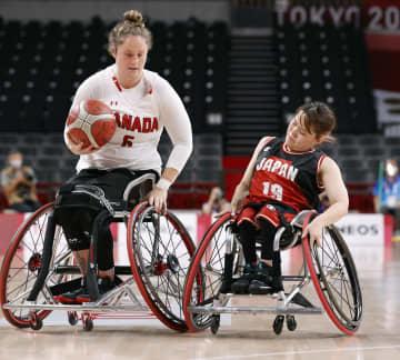 パラ、日本女子がカナダに敗れる 車いすバスケ・27日 画像1
