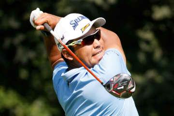 松山英樹、暫定15位に後退 米男子ゴルフ第2日 画像1