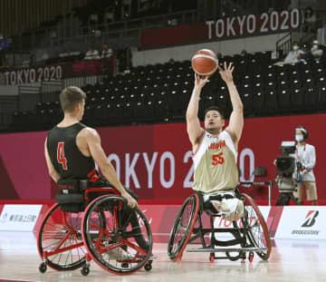 日本男子が3連勝 車いすバスケ・28日 画像1