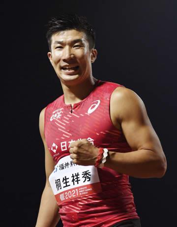 桐生が10秒18、100m優勝 陸上のナイトゲームズ 画像1