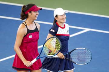 女子テニス、青山・柴原組が優勝 米クリーブランド選手権、複決勝 画像1