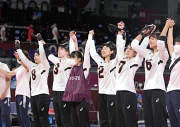女子日本大勝、準々決勝へ ゴールボール・29日 画像1