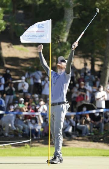 ビンセント初V、石川は2位 男子ゴルフ最終日 画像1