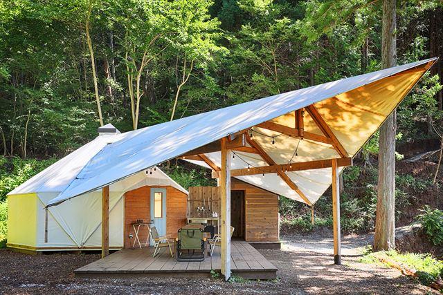富士山麓・河口湖の自然の中でリトリートできる「RetreatCamp まほろば」 画像4