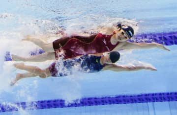 石浦、再レースで順位一つ上げる 競泳女子、全盲の50自由形 画像1