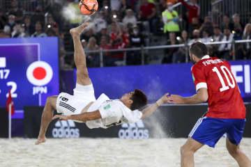 日本代表、初優勝ならず ビーチサッカーW杯 画像1