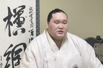 照ノ富士「尊敬される横綱に」 秋場所へ抱負、表情変えず 画像1