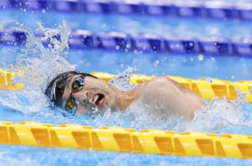 鈴木孝幸2位、木村敬一3位通過 競泳・30日 画像1