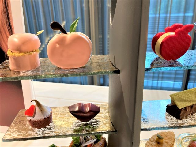NINA RICCIの香りをイメージしたアフタヌーンティー!ホテルで心ときめくひとときを「ザ・サウザンド キョウト」【実食ルポ】 画像11
