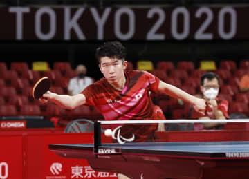 日本男子は1回戦敗退 卓球・31日 画像1