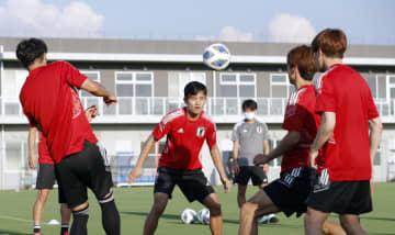 日本代表が非公開で本格的調整 冨安、守田オマーン戦欠場 画像1