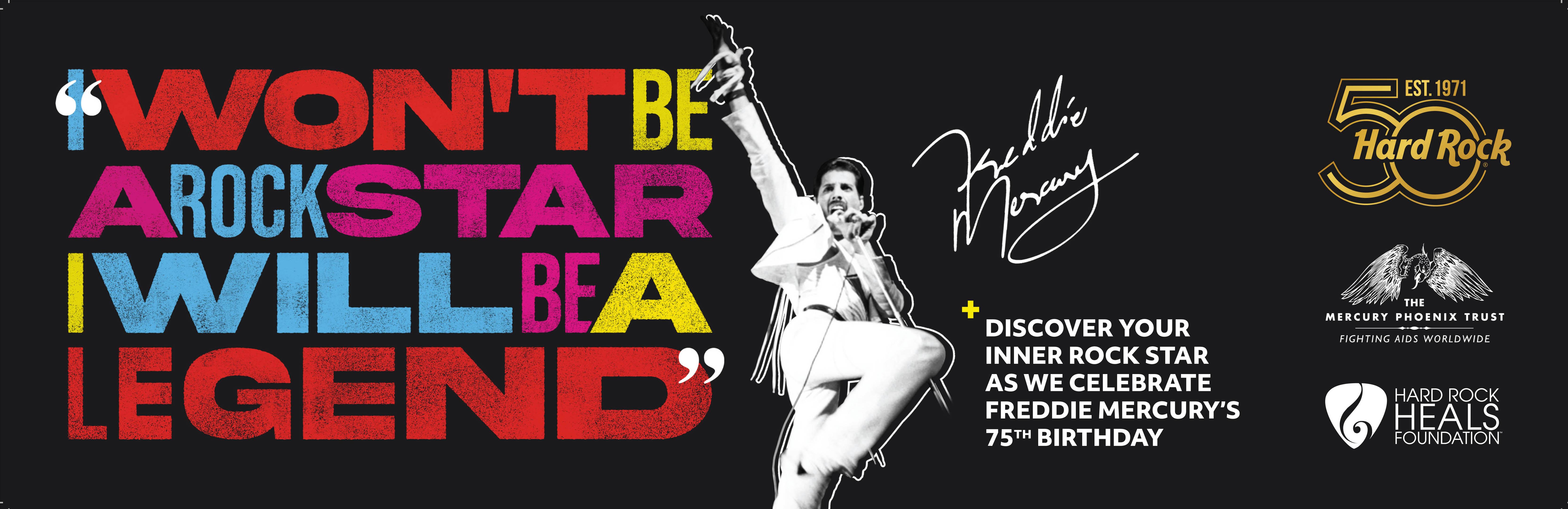 ハードロックカフェ 「Freddie For A Week Pin」