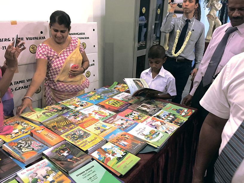 2007年から始まった『キリンスリランカフレンドシッププロジェクト』の一環として、紅茶農園のある地区の小学校に図書を寄贈している。これまで、200校以上に各校100冊程度の図書と本棚を寄贈している。
