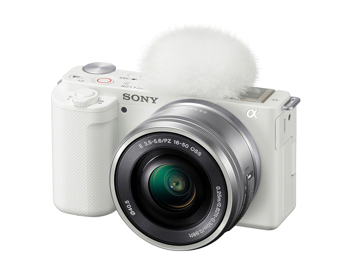 レンズ交換式Vlogカメラ『VLOGCAM™ ZV-E10』動画カメラ-ZV-E10L_W