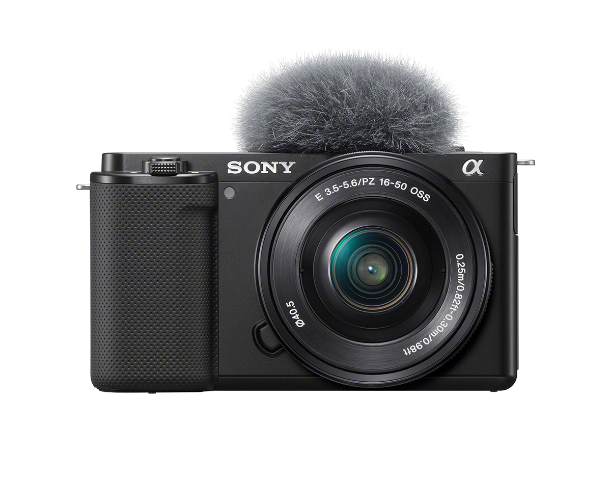 レンズ交換式Vlogカメラ『VLOGCAM™ ZV-E10』
