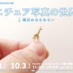 ミニチュア写真の世界展 in 横浜みなとみらい