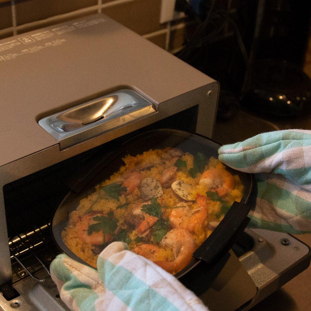 トースターにすっぽり入るサイズ感
