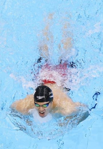 競泳の木村ら決勝進出 テニス国枝は4強、パラ第9日 画像1