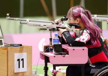 水田光夏、32位で予選落ち 射撃・1日 画像1