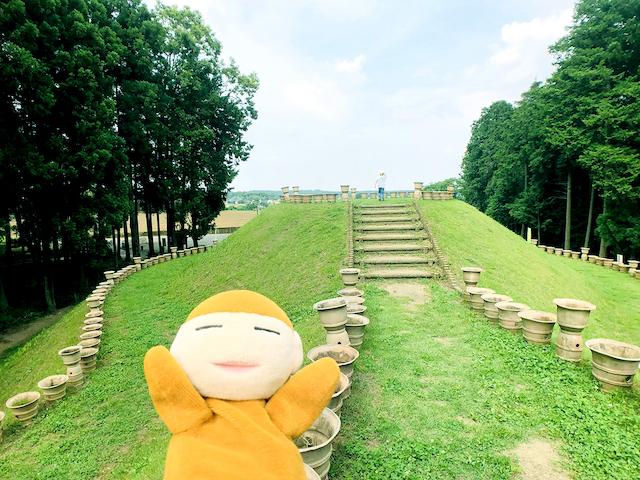 日本列島ゆるゆる古墳ハント(30)「はに丸タワー」が目玉!古墳体験が楽しい、茨城県水戸市「牛伏古墳群」と「くれふしの里古墳公園」 画像1