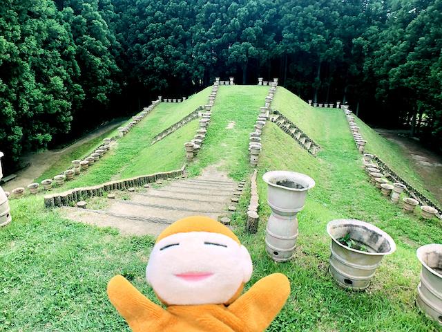 日本列島ゆるゆる古墳ハント(30)「はに丸タワー」が目玉!古墳体験が楽しい、茨城県水戸市「牛伏古墳群」と「くれふしの里古墳公園」 画像3
