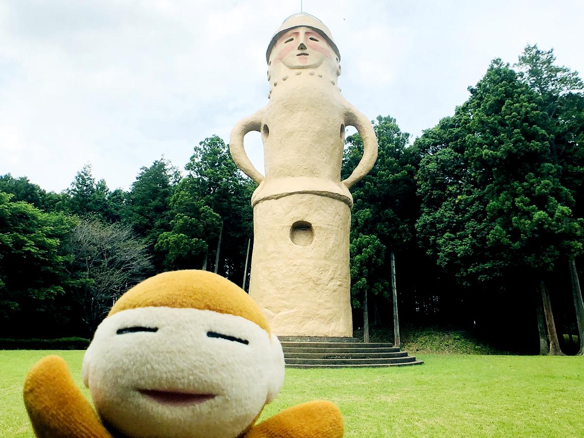 日本列島ゆるゆる古墳ハント(30)「はに丸タワー」が目玉!古墳体験が楽しい、茨城県水戸市「牛伏古墳群」と「くれふしの里古墳公園」 画像4