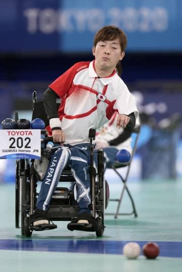 杉村が日本初のボッチャ「金」 個人で前回リオ大会覇者下す 画像1