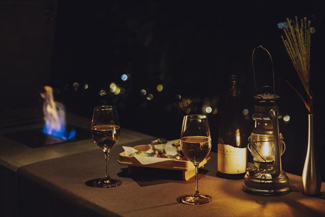 【星のや富士】ワインと秋の味覚を堪能!半月~満月限定の河口湖絶景ディナー 画像5