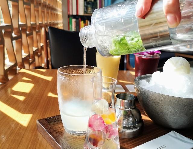 """自分で完成させる""""宝石かき氷""""実食ルポ!「レクサス」のカフェで9月限定の楽しみを堪能【南青山】 画像6"""