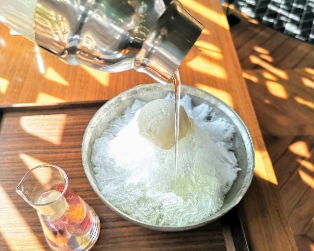 """自分で完成させる""""宝石かき氷""""実食ルポ!「レクサス」のカフェで9月限定の楽しみを堪能【南青山】 画像9"""