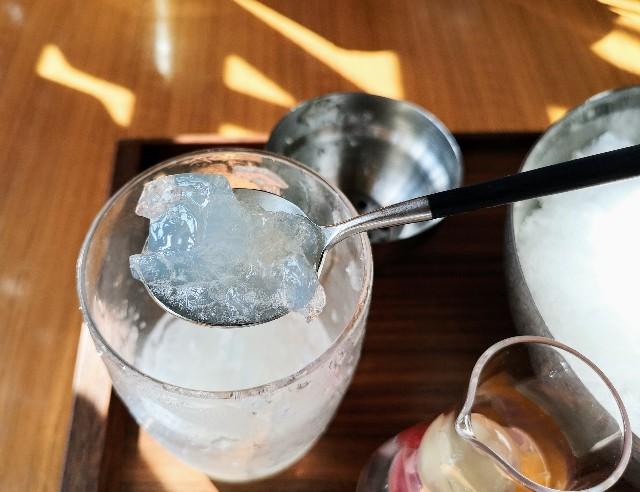"""自分で完成させる""""宝石かき氷""""実食ルポ!「レクサス」のカフェで9月限定の楽しみを堪能【南青山】 画像10"""