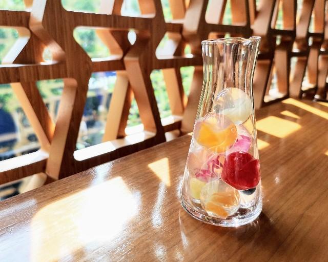 """自分で完成させる""""宝石かき氷""""実食ルポ!「レクサス」のカフェで9月限定の楽しみを堪能【南青山】 画像11"""