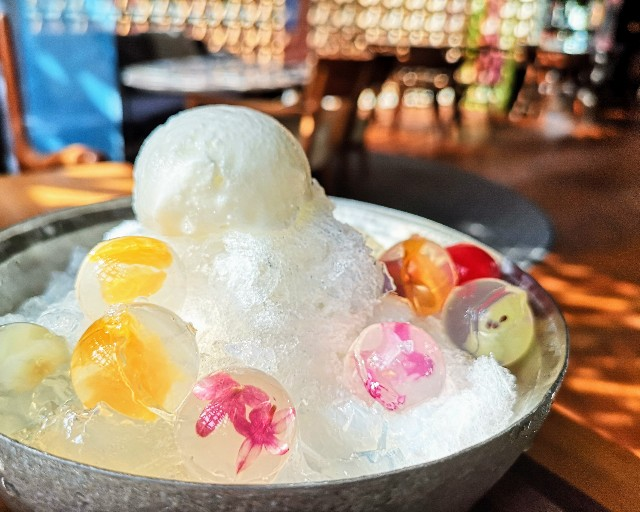 """自分で完成させる""""宝石かき氷""""実食ルポ!「レクサス」のカフェで9月限定の楽しみを堪能【南青山】 画像13"""