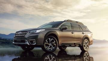 スバルの新型SUV予約開始 「レガシィアウトバック」 画像1
