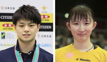 卓球、宇田や早田らが代表決定 世界選手権選考会 画像1