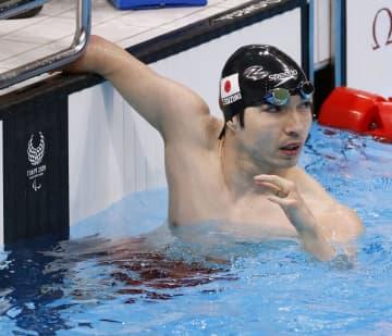 競泳鈴木孝幸「銀」、メダル5個 テニス国枝、上地は決勝へ 画像1