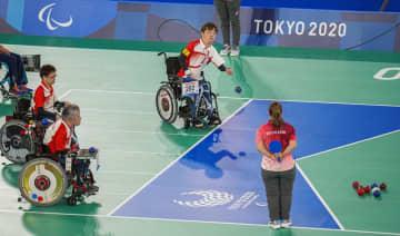 チームの日本は2勝1敗 ボッチャ・2日 画像1