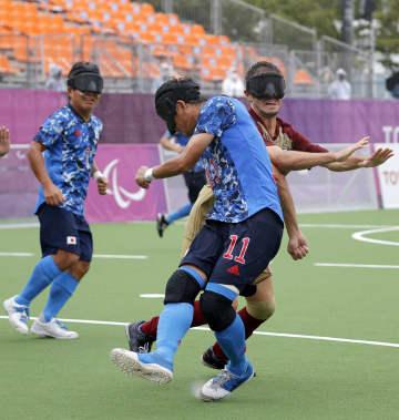 初出場の日本、スペイン破り5位 5人制サッカー・2日 画像1