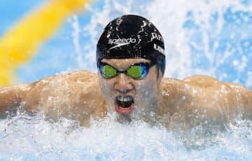 木村1位、富田2位で通過 競泳・3日 画像1