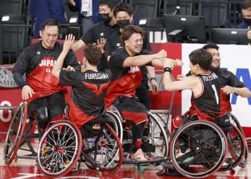 日本男子、初の決勝進出 車いすバスケ・3日 画像1
