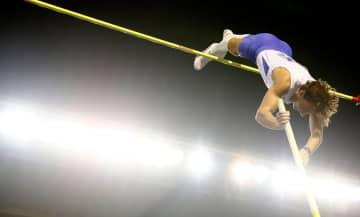 陸上、デュプランティスが優勝 男子棒高跳び、東京五輪で金 画像1