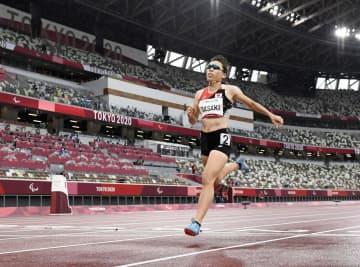 女子400メートルで佐々木7位 陸上・4日 画像1