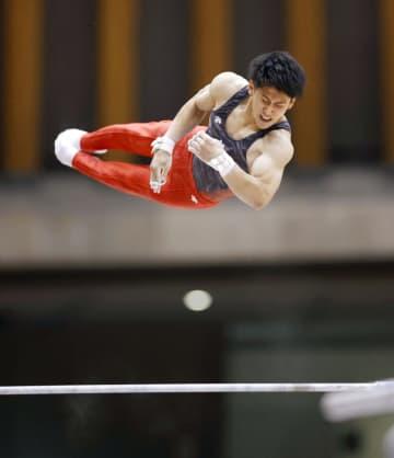 東京五輪金の橋本3冠 全日本学生体操 画像1