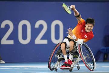 車いすテニス国枝、2大会ぶり金 日本選手団の主将37歳エース 画像1