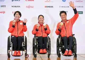 国枝慎吾「人生の中で一番幸せ」 車いすテニス金、パリ大会も視野 画像1